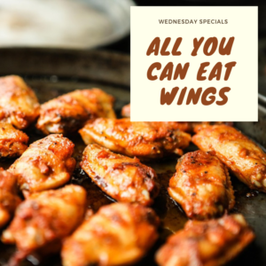 Wednesday Specials - All You Can Eat Wings