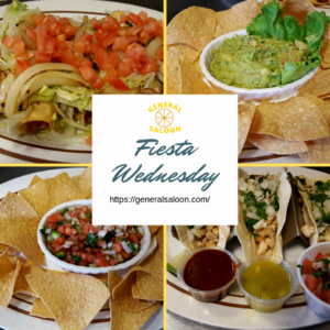 Wednesday Specials - Mexican Fiesta Night