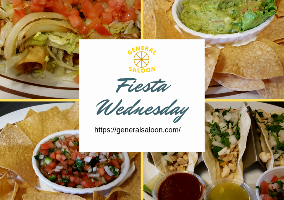 Wednesday Specials – Mexican Fiesta Night