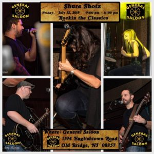 Shure Shotz @ General Saloon | Old Bridge Township | New Jersey | United States